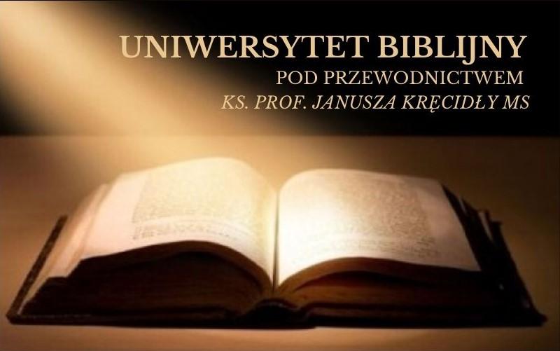 """""""Czy Bóg rzeczywiście żałował, że stworzył ludzi?"""" XXIX Spotkanie Uniwersytetu Biblijnego (18 VI 2020)"""